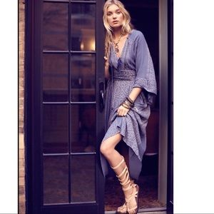 FREE PEOPLE MODERN KIMONO DRESS